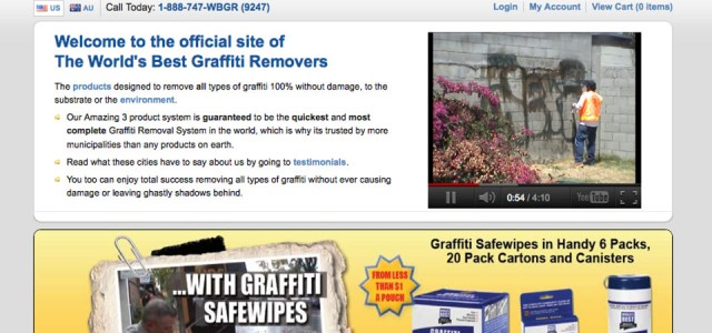 Graffiti Website