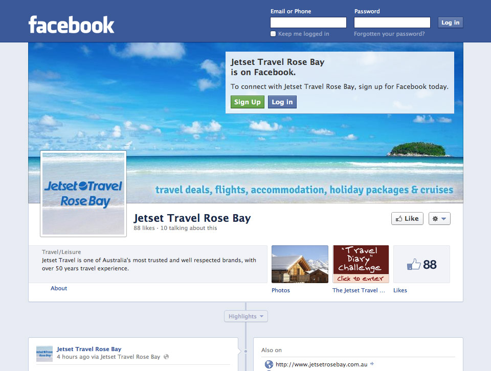 Jetset Travel Rose Bay Facebook